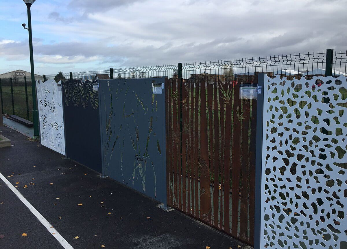Pose clôtures, murets, brise-vues.. Paysagiste Clermont-Ferrand 63