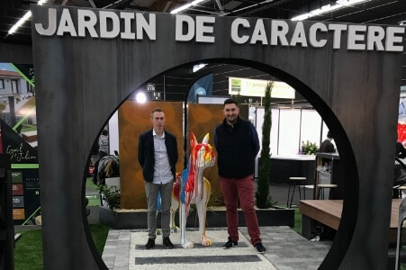 JARDIN DE CARACTERE - Salon de l'Habitat Clermont-Ferrand