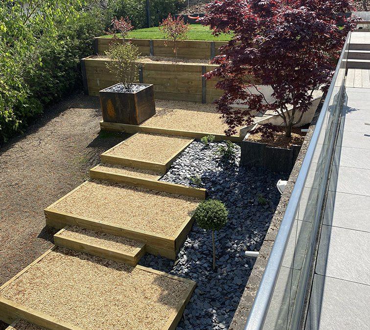 Escalier & Terrasse