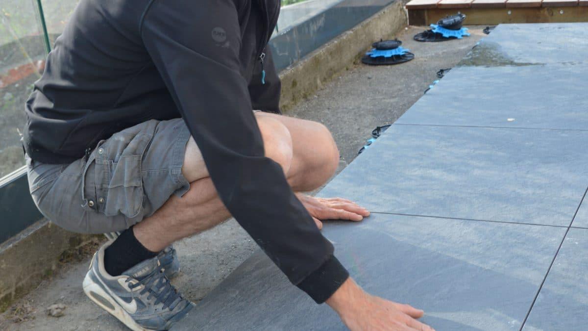 Installation d'une terrasse (3/3)